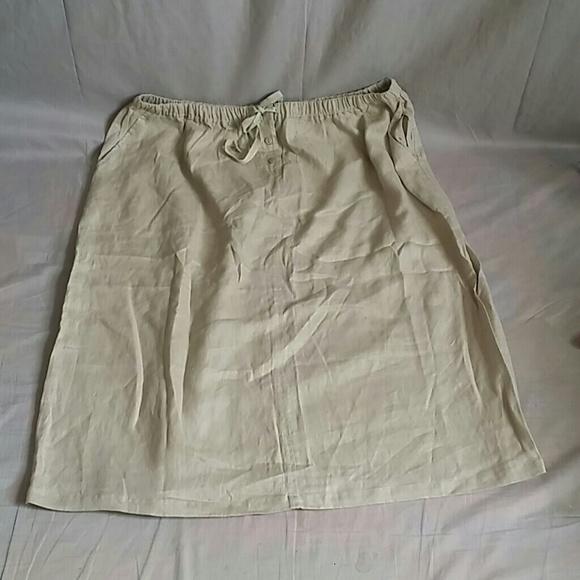 59ef222602e1 silhouettes Skirts | Maxi Size 4x 100 Linen | Poshmark